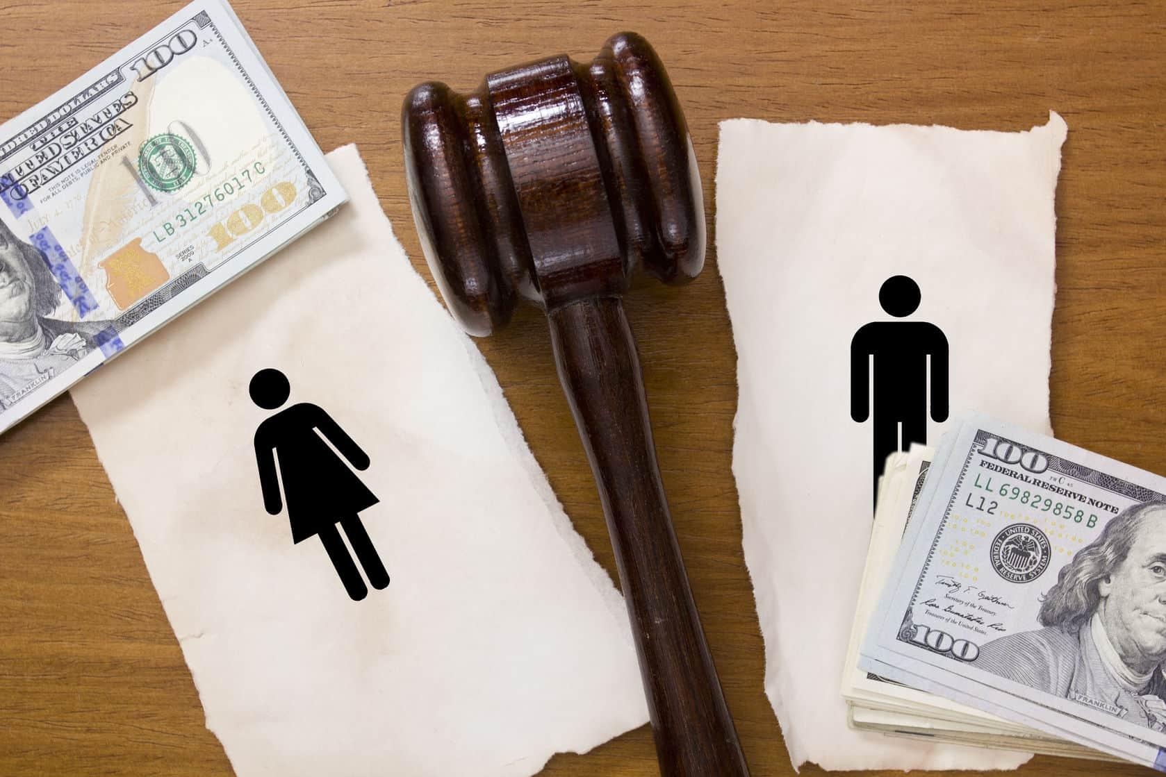 Assets division after divorce
