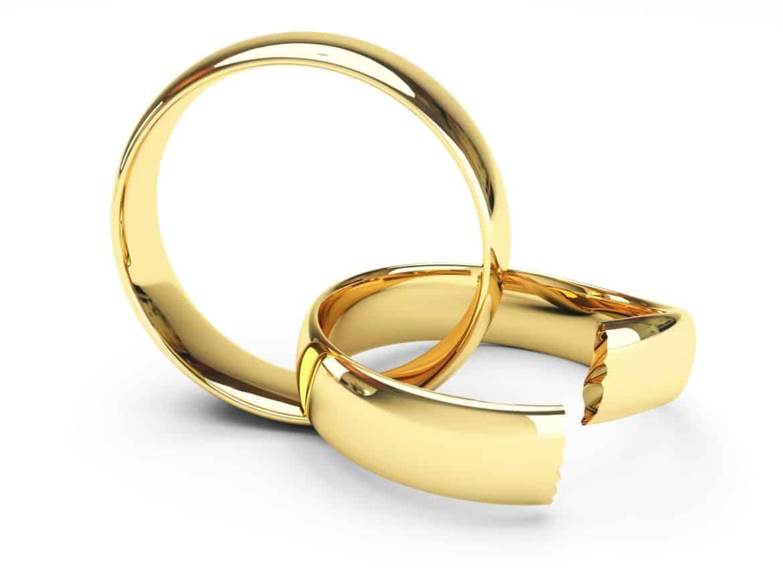 Broken Marriage Rings