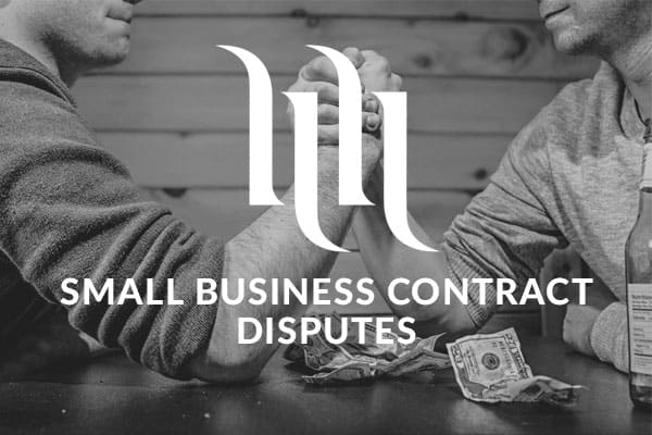 small business contract disputes
